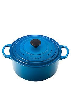 Le Creuset Signature 3.5-qt. Round French Oven in new Marseilles Blue