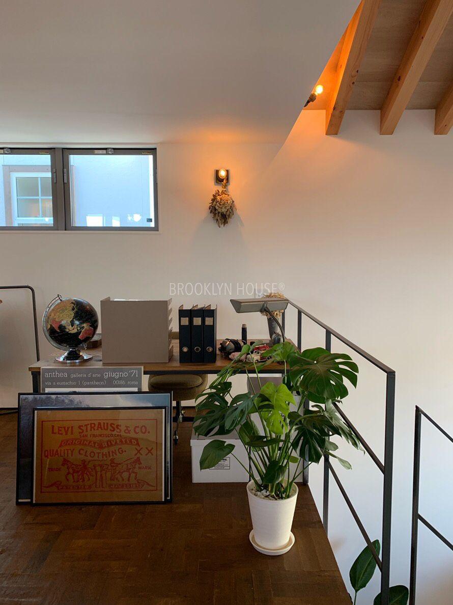 Elegant ブルックリン #ブルックリンハウス #brooklynhouse #brooklyn_house #デザインソース #designsource #吹抜け