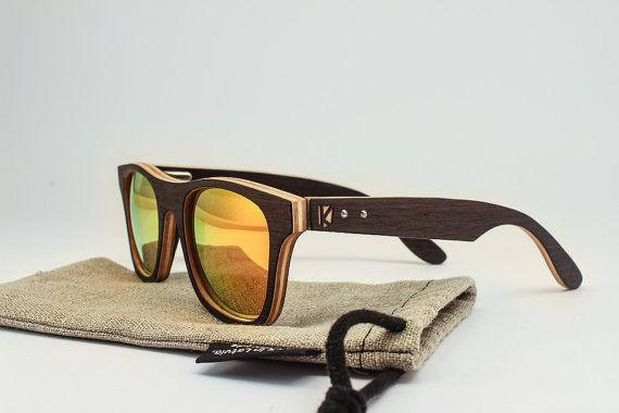 31f7bfb8c9 Madera gafas de sol - gafas de sol personalizadas - accesorios de la boda  de verano - en las gafas de madera Letonia - regalo para el novio-