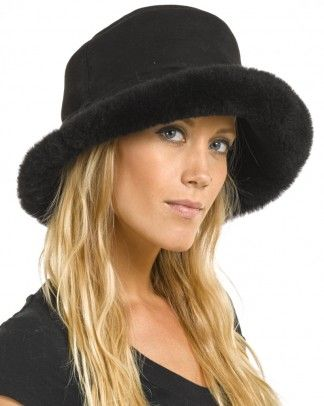 Shop FurHatWorld for the best selection of Womens Sheepskin Hats. Buy The  Toronto Shearling Sheepskin Hat in Black by FRR with fast same day shipping. 5f7d1287be0