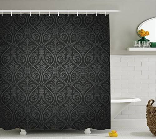 amazon goth shower curtain Curtains, Shower, Bathroom