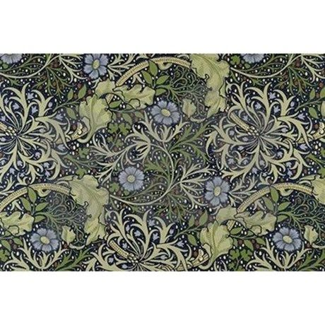 William Morris Seaweed Scarf Vintage floral wallpapers