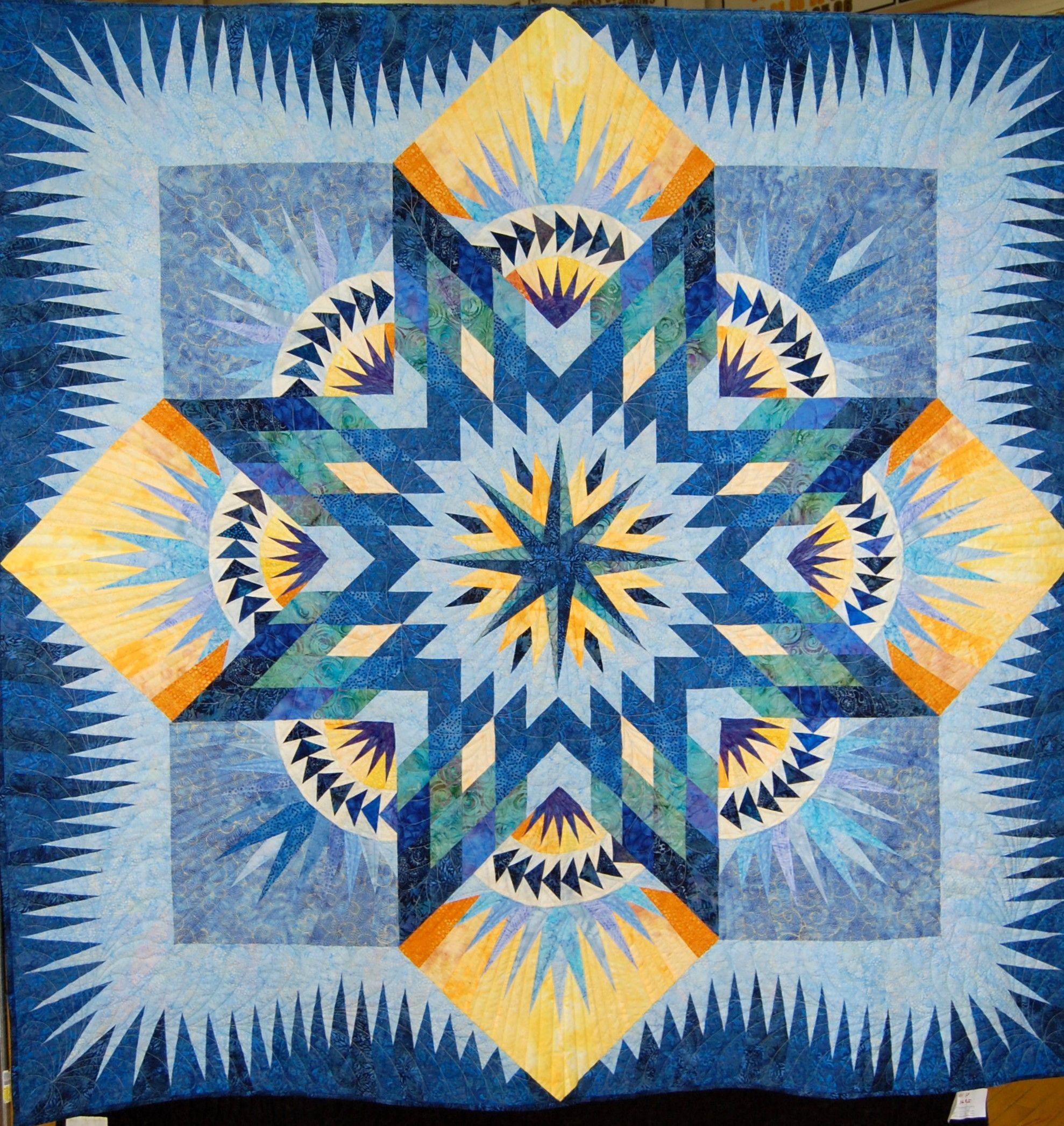 Hawaiian Star by Karen Crosby, Narragansett Bay Quilters ...