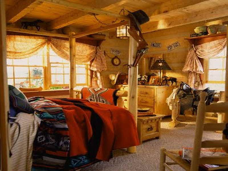 about bedding bedroom on cabin bedrooms western pinterest ideas decor decorating southwestern