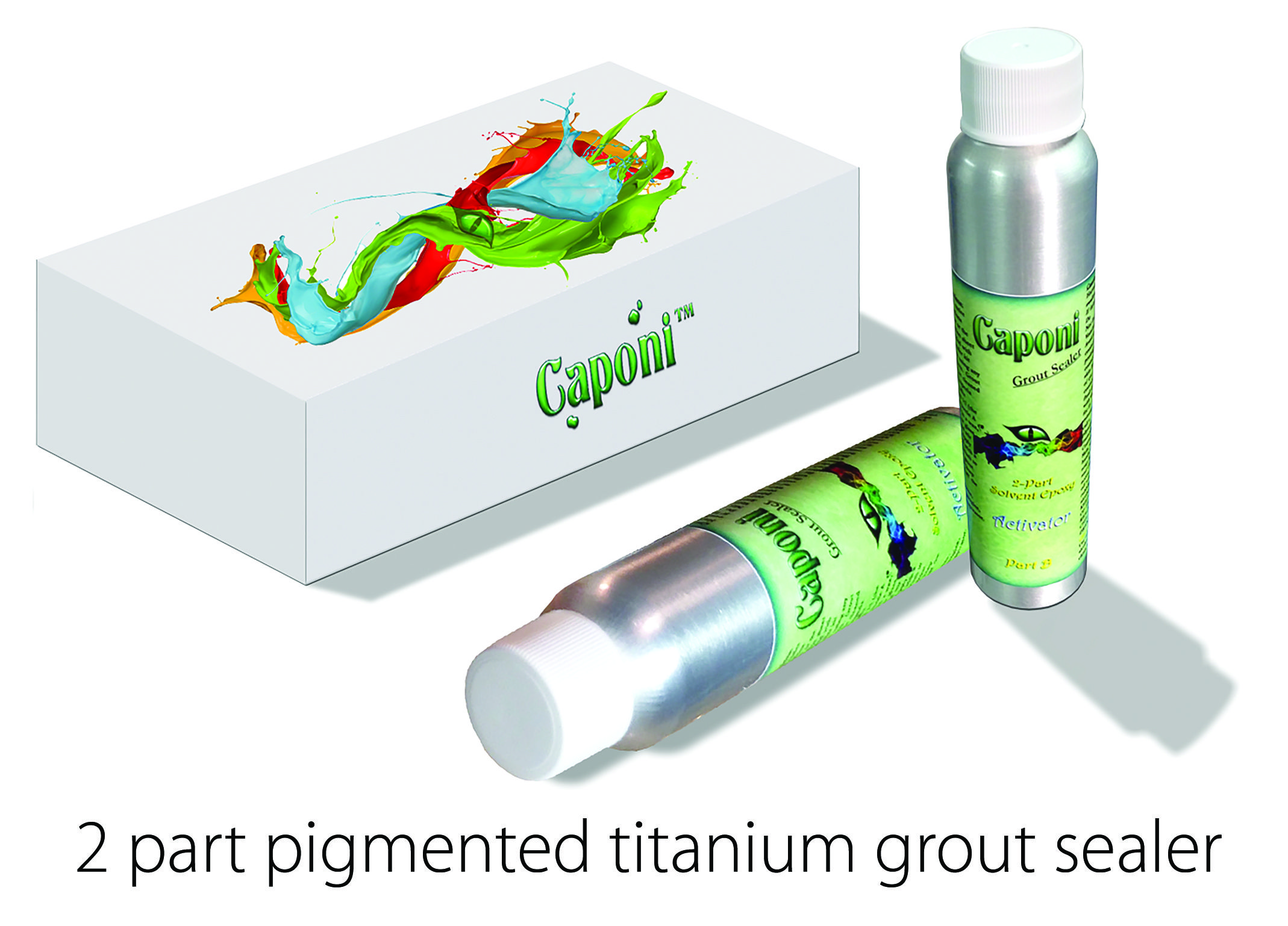 Prevent stains from taking place on your #grout for a lifetime with a #titaniumsealer. Purchase Caponi @ https://goo.gl/fUaYhP.