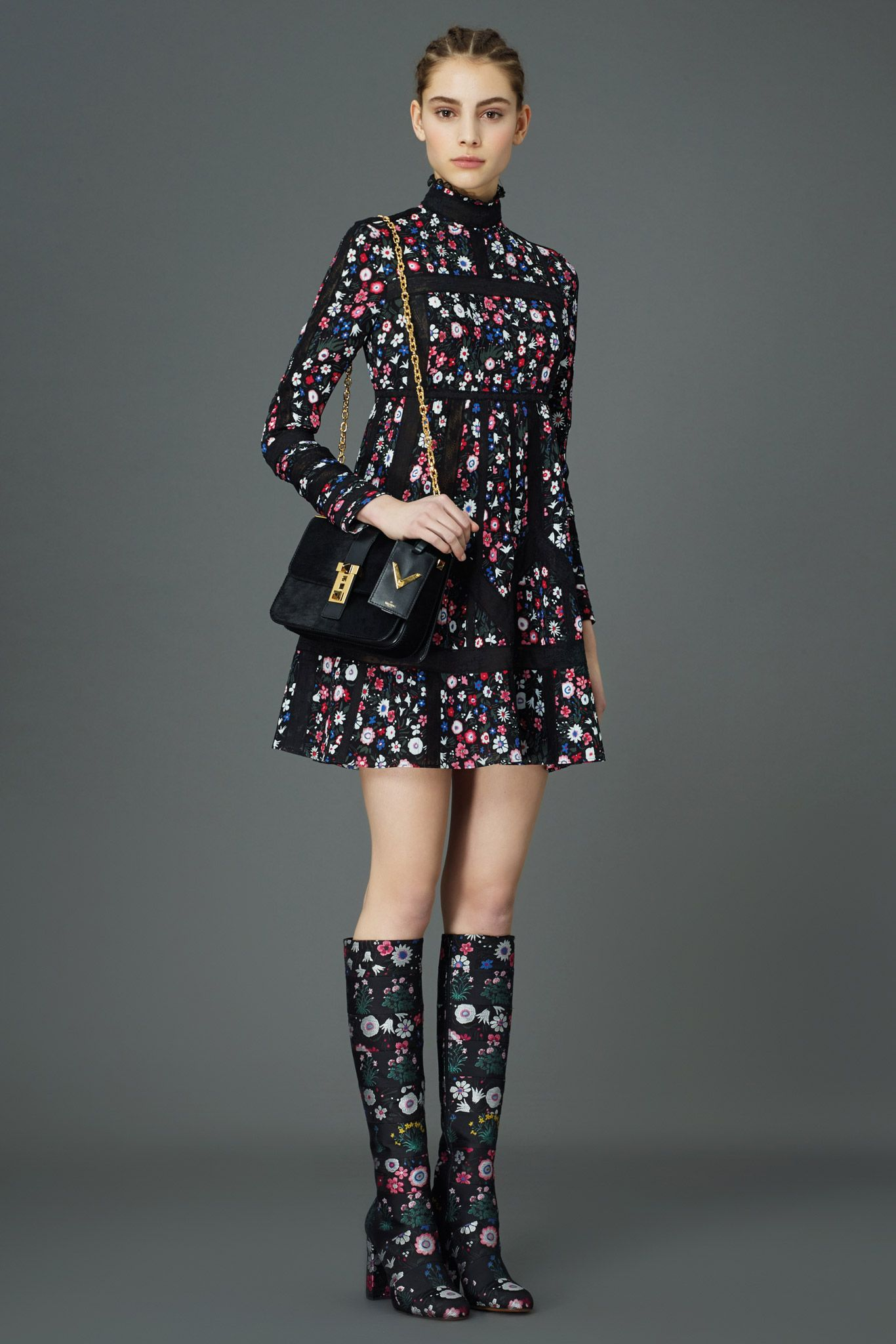 Valentino - Pre-Fall 2015 - I want these to be rainboots and part of the cutest rainy day outfit ever.