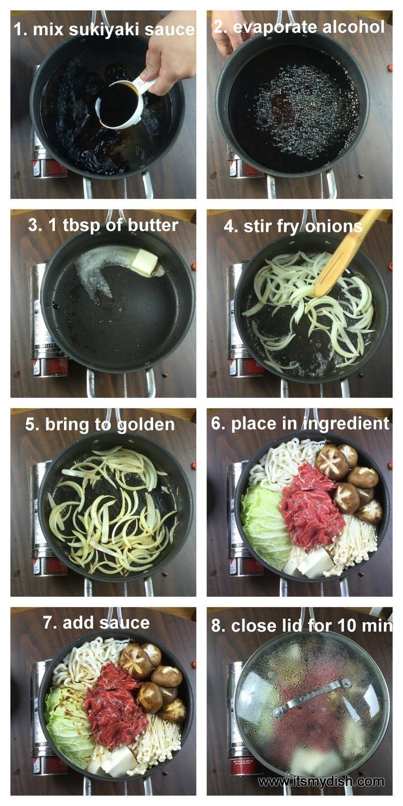 Sukiyaki Recipe Mom Pinterest Suppen Japanische Kuche And