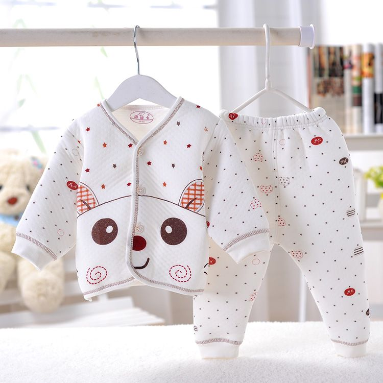c8b6a6d4a8c 2015 Autumn Winter Newborn Baby Clothing Set Brand Clothes For Baby Gifts  Cotton Baby Girl Cute Cartoon 2 pieces Set 0-3 Months