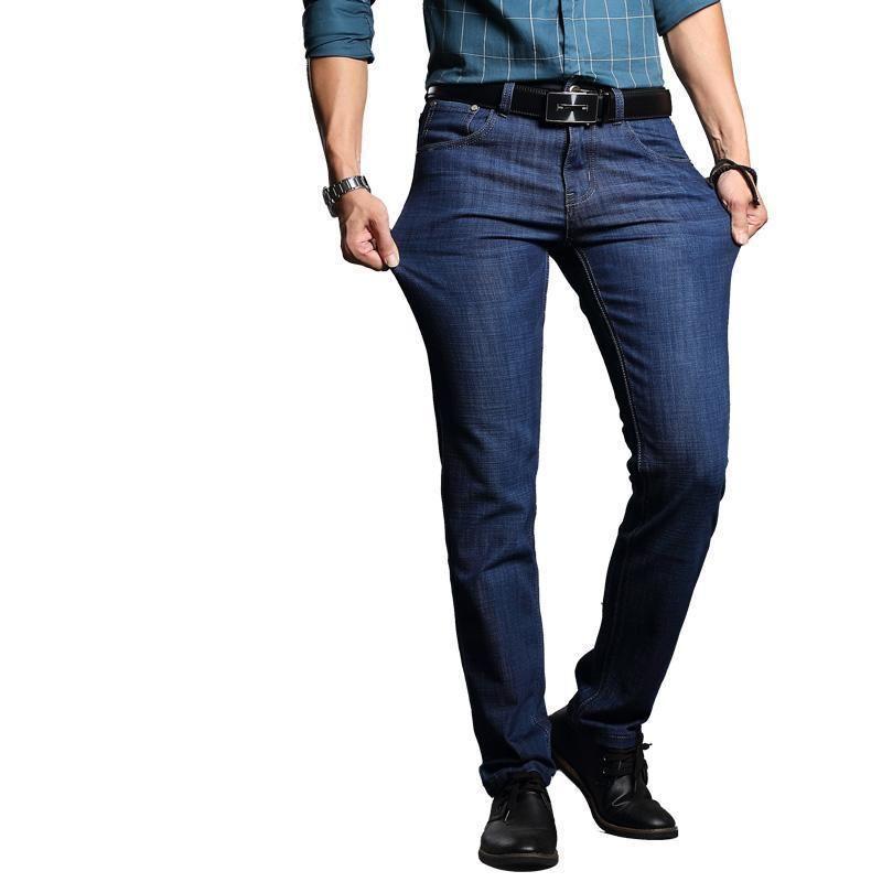 387fcac3c3f5 ... -men-denim-pants-cotton-slim-blue-long-jeans-men-quality-business-casual -male-trousers-1 utm campaign social autopilot utm source pin utm medium pin