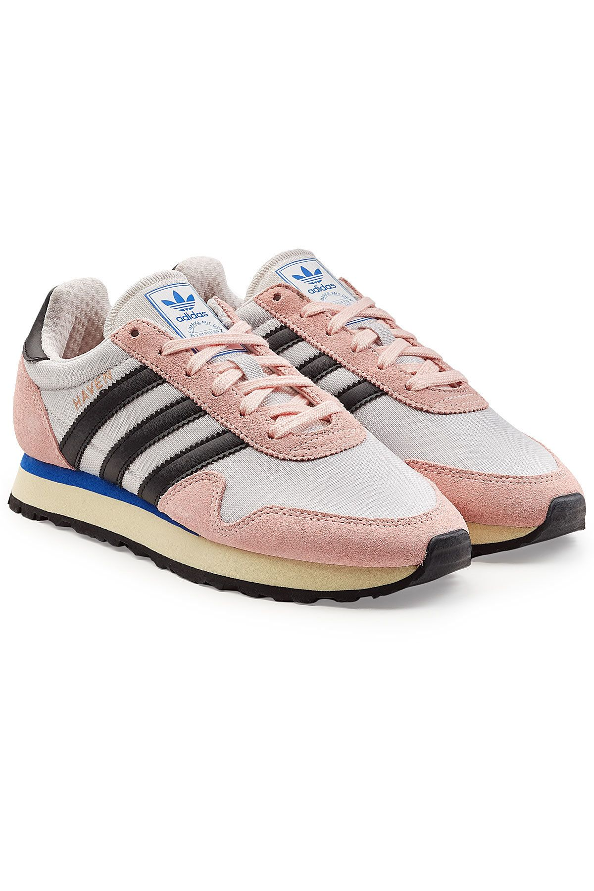 aa128b95cd656d ADIDAS ORIGINALS - Haven Sneakers with Leather and Sued