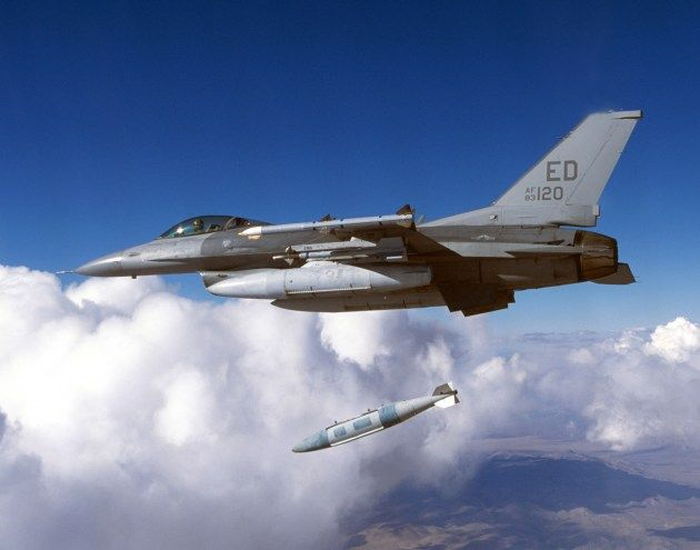 Military Plane Accidentally Drops 7 Training Bombs