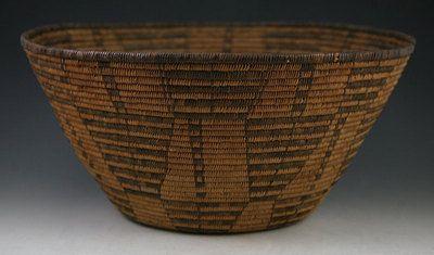 Apache Native American Indian Baskets,  - Apache Basket