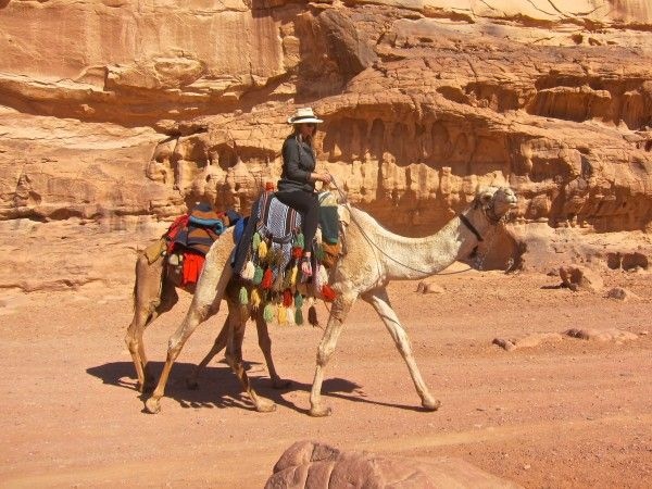 Red Desert Dreams in Wadi Rum • The Blonde Abroad