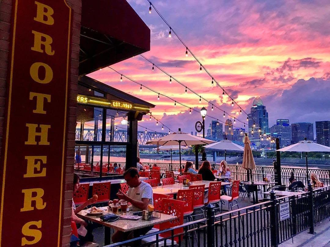Places To Eat With Great Views In The Nky And Cincinnati