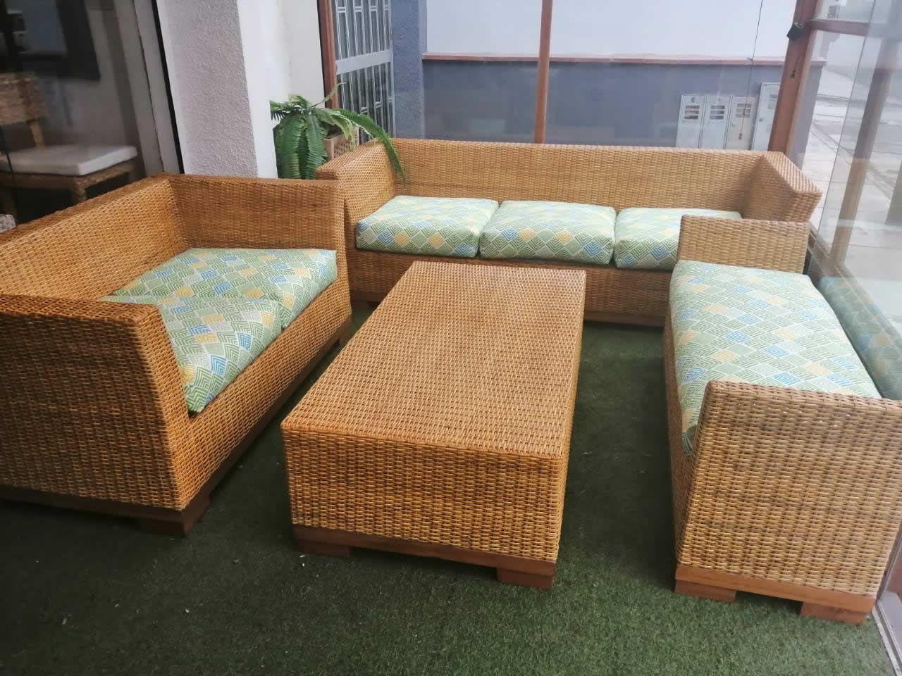 Muebles De Rattan Mimbre Natural Original Terrazas Jardines Casas De Playa Y Campo Disenos Innovadores Mueble En 2020 Muebles De Mimbre Muebles Muebles Para Terrazas