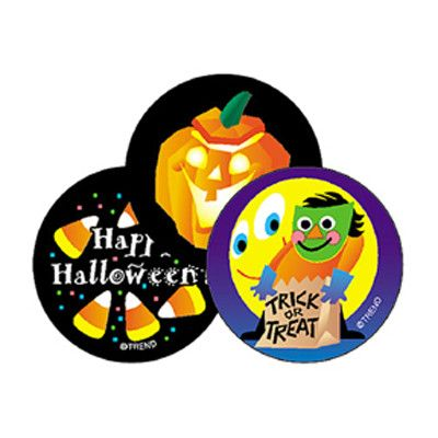 Trend Enterprises Stinky Halloween Sticker (Set of 3)