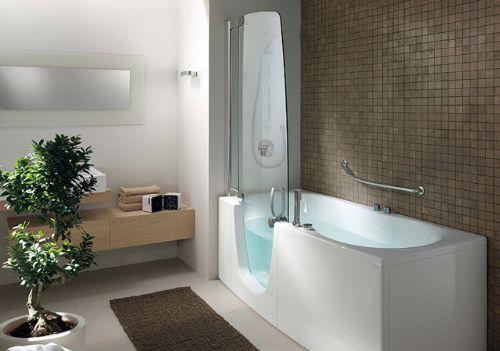 Vasca Da Bagno Con Tenda : Vasca o doccia nel bagno i combinati di teuco idee per la casa