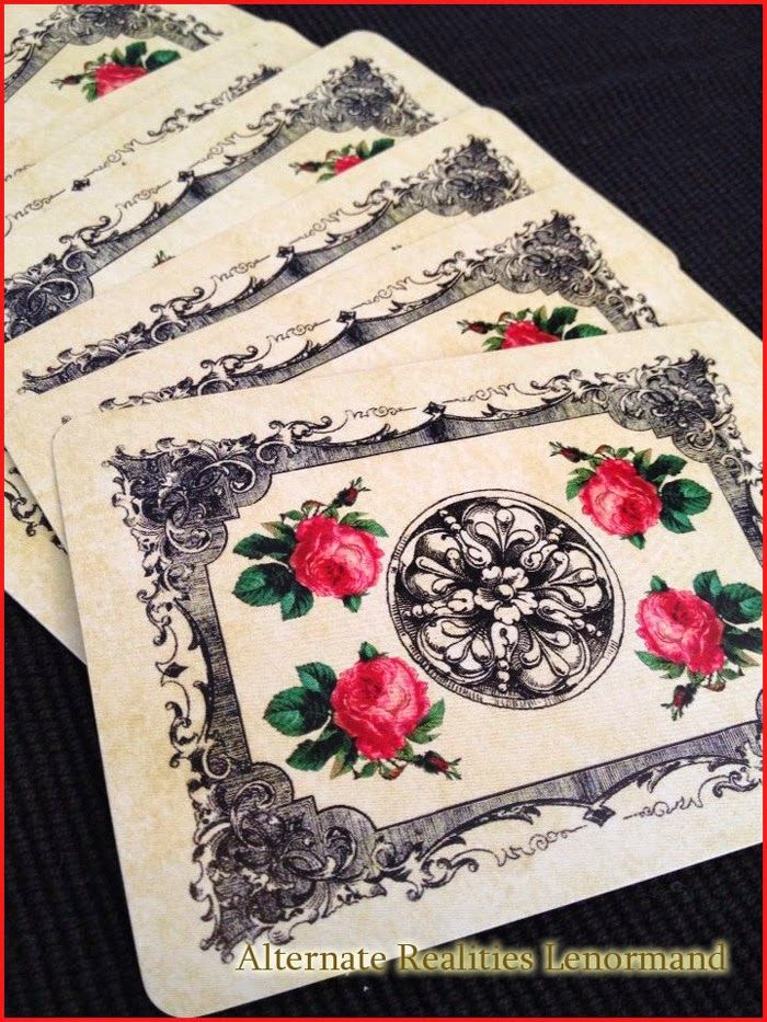 alternate realities lenormand card deck now available for purchase
