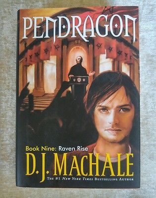Raven Rise Pendragon 9 By D J Machale 2008 Hcdj 1st Ed 1st Print