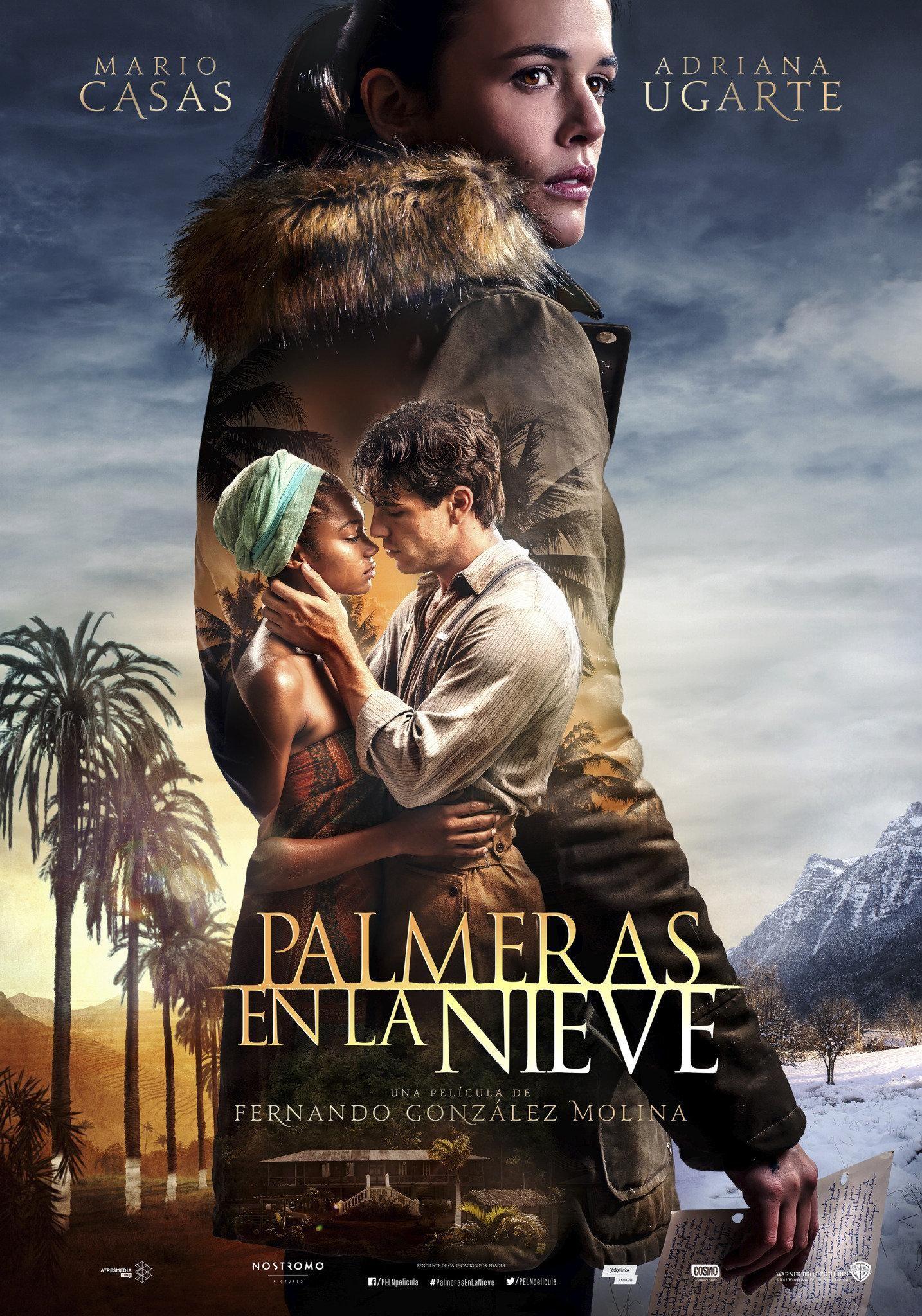 Adriana Ugarte Mario Casas And Berta Vazquez In Palm Trees In