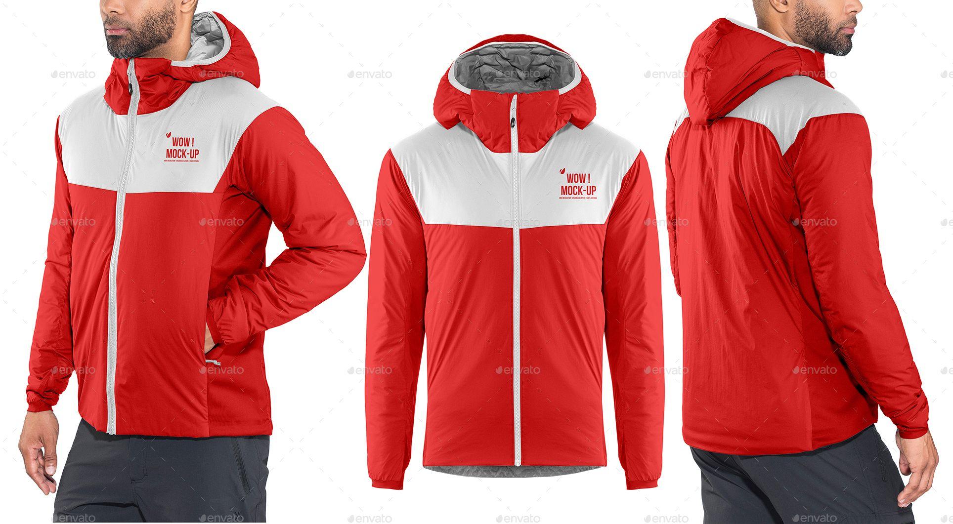 Download Men S Winter Hooded Jacket Mock Up Ad Jacket Spon Mock Mock Hooded Men Hooded Jacket Men Winter Jackets