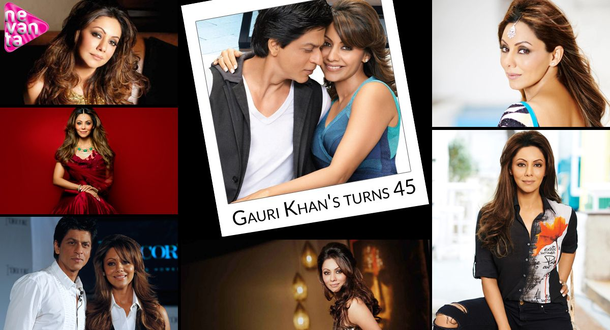Happy Birthday Gaurikhan She Is Not Just A Celebrity Wife But A