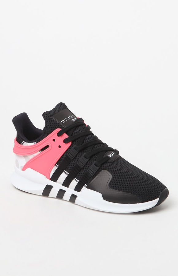 size 40 069df 1d01e adidas EQT Support Adv Black   Pink Shoes