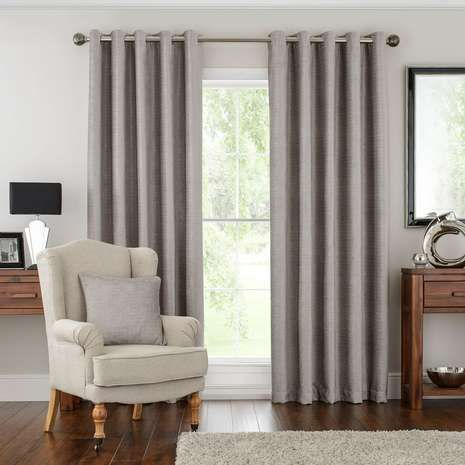 hotel silver naples lined eyelet curtains dunelm