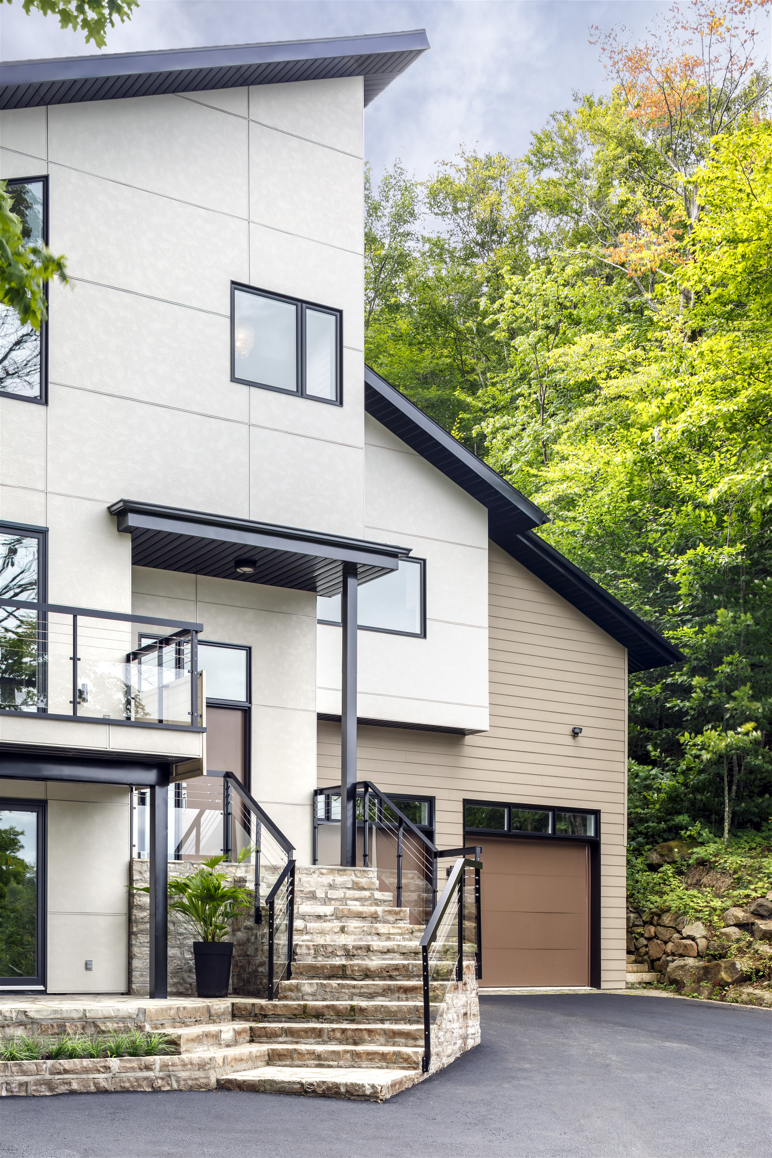 James Hardie - Design Ideas | Photo Showcase | House ... on Modern House Siding  id=72754