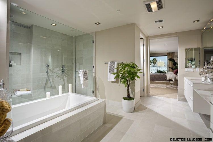 baños de lujo con mármol DECORACIÓN VANGUARDISTA Pinterest - baos lujosos