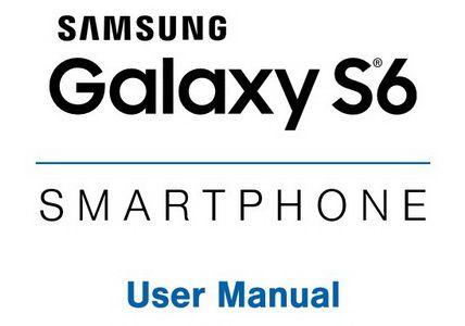 Samsung Galaxy S6 G920V User Manual