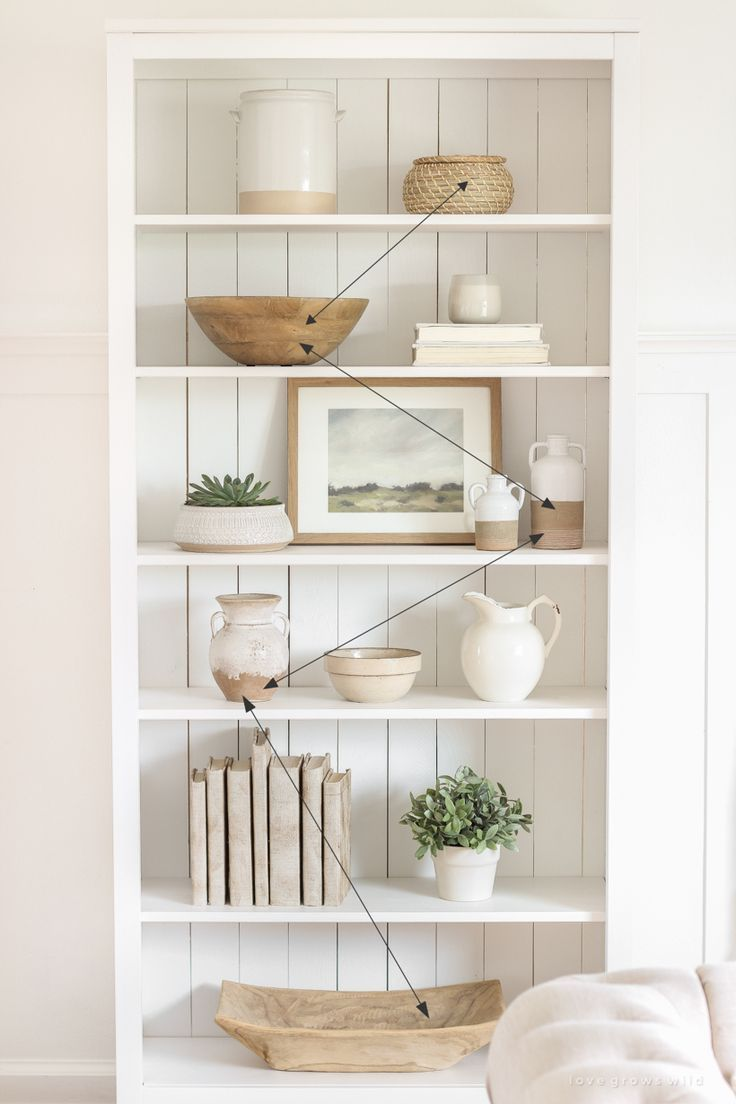 Shelf Styling 101 - Love Grows Wild