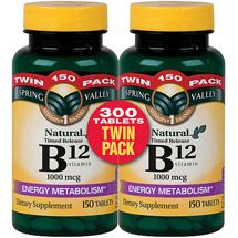 Walmart Spring Valley Natural Timed Release Vitaminb12