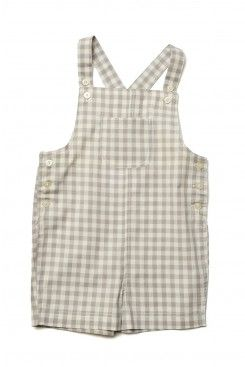 Gingham Check Bailey Shortall