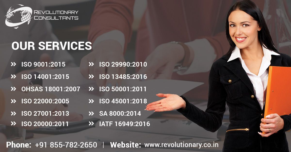 Revolutionary Consultants is a consultancy to provide
