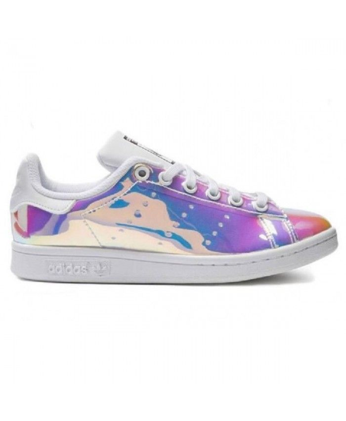 adidas stan smith holographique femme