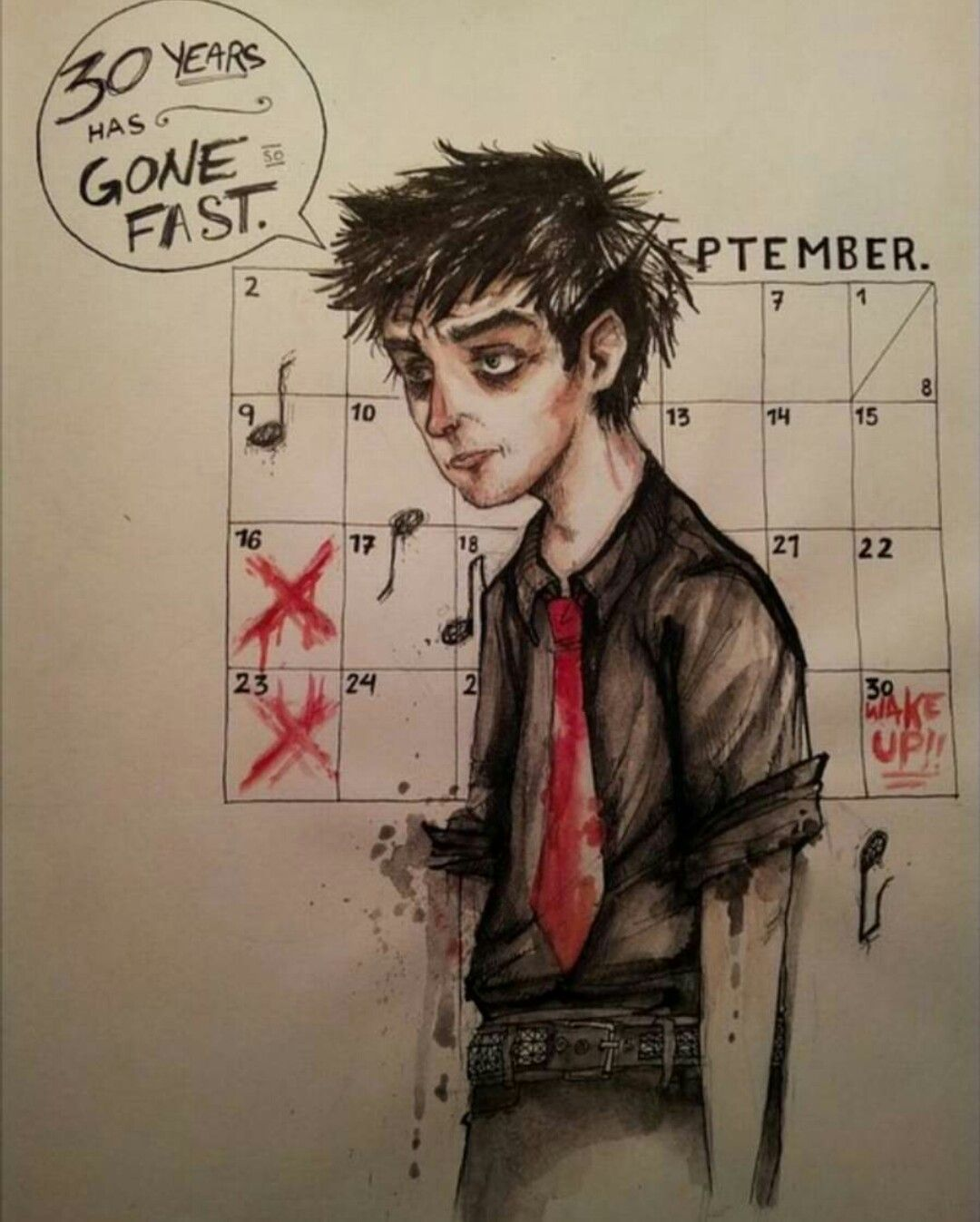 September when wake ends me up