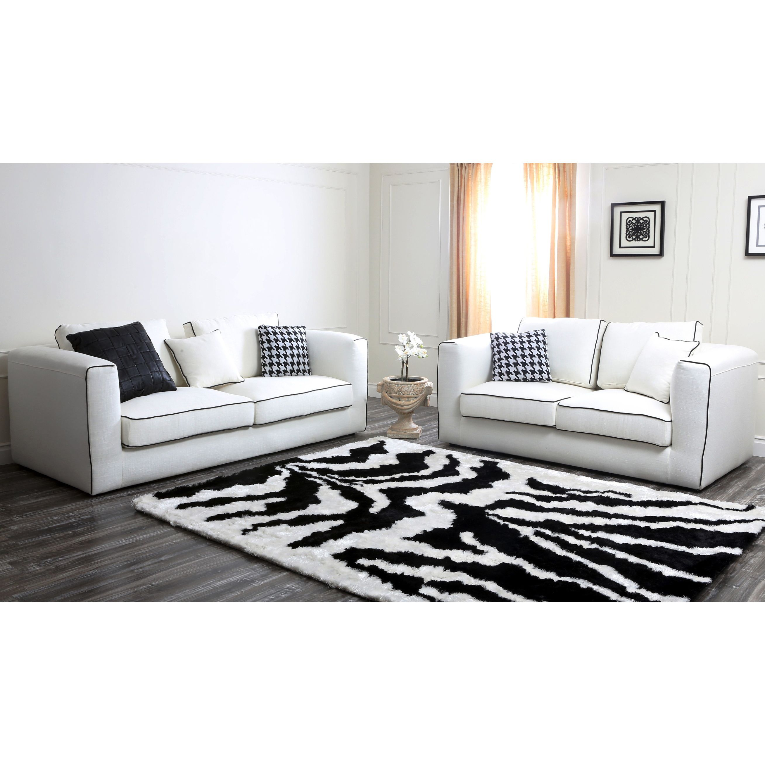 this soho italian linen sofa and loveseat set features fabric
