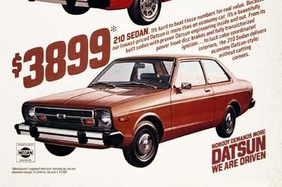 Image result for b210 datsun lineup