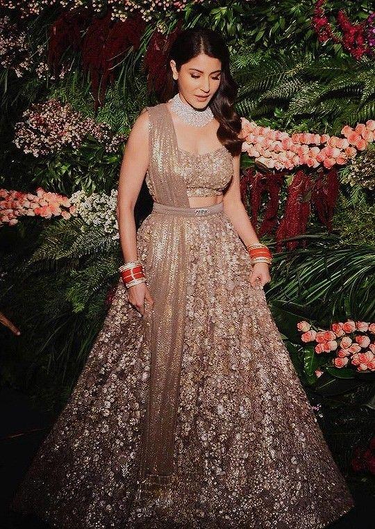 Anushka Sharma | Indian bridal outfits, Designer bridal ...