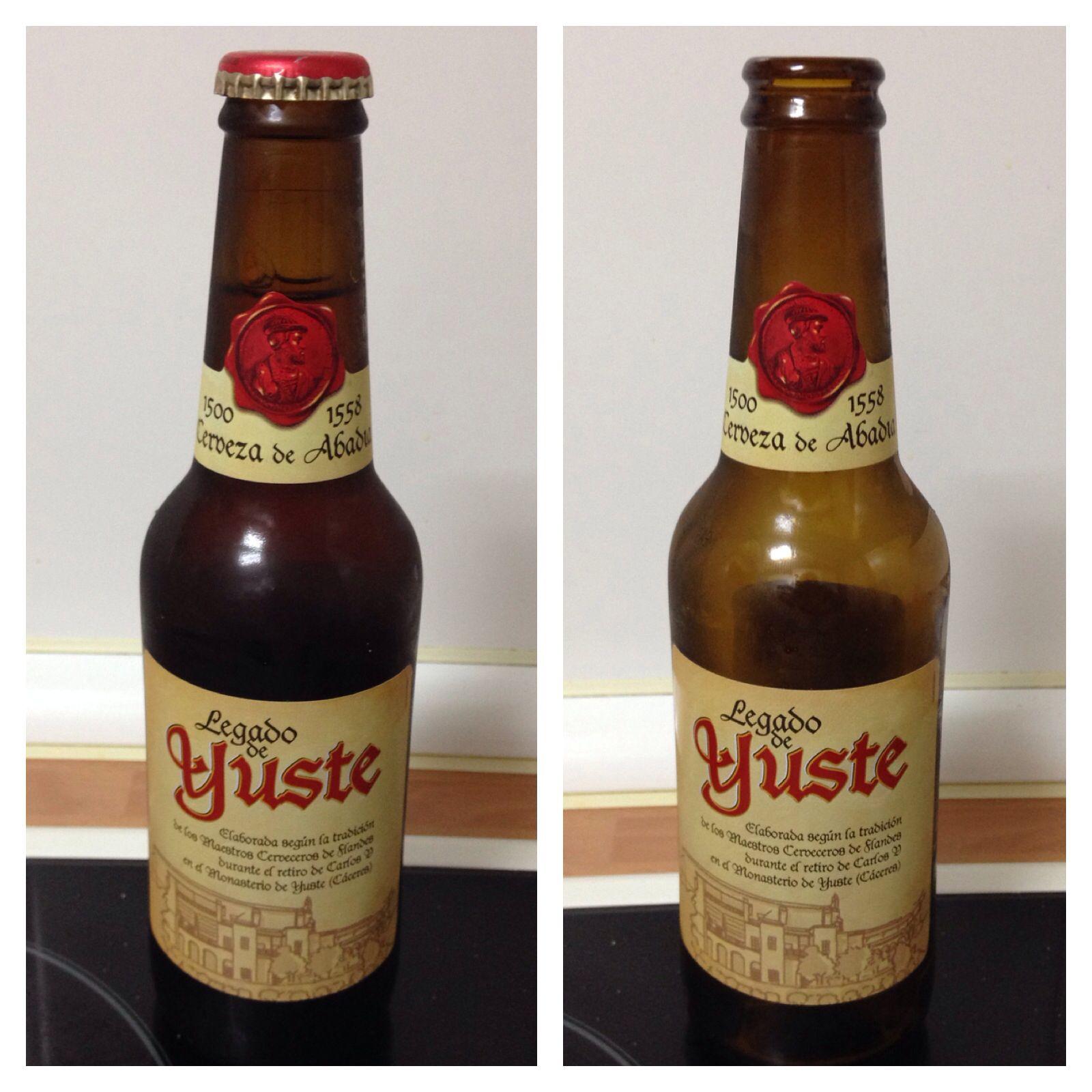 Legado De Yuste Tostada 6 5 Alcohol Cerveza Sencilla Y Poco