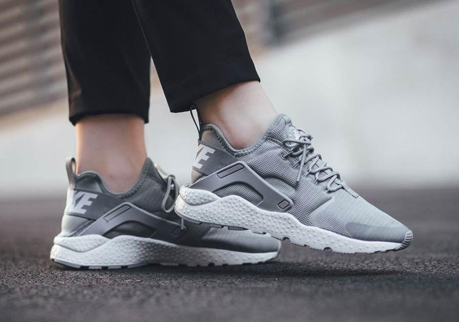 Nike Air Huarache Run Ultra Stealth Grey Sneakernews Com Nike Air Huarache Nike Huarache Nike Shoes Cheap