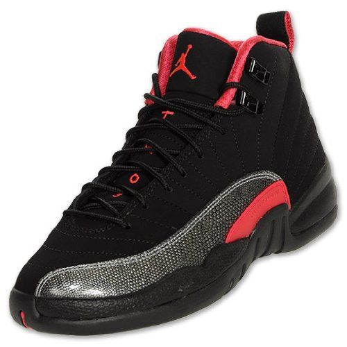 a0e5931fc Nike Girls Air Jordan 12 Retro(gs) Blk red 510815-008 Girls Sz 4.5y Nike.   109.99. leather. Nike Air Jordan Fly 23 Blk silver 454094-011 Mens