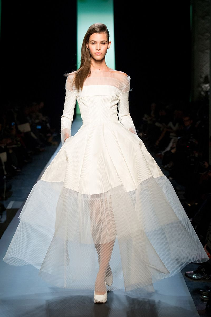 Versace wedding dress  The  Best Instagram Fashion Moments of the Week Donatella Versace