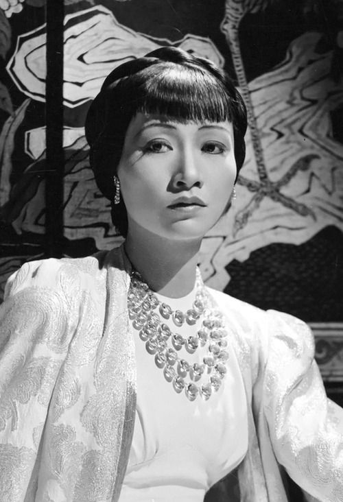 Anna May Wong, 1936, photo by George Hurrell