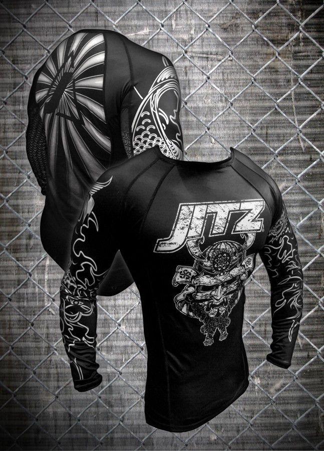 JITZ Samurai MMA/JiuJitsu Rashguard NOW $8! (MSRP $60) | Sporting Goods, Boxing, Martial Arts & MMA, Clothing, Shoes & Accessories | eBay!