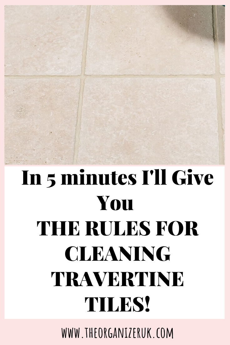 Learn How To Clean Travertine Like A Professional. · The