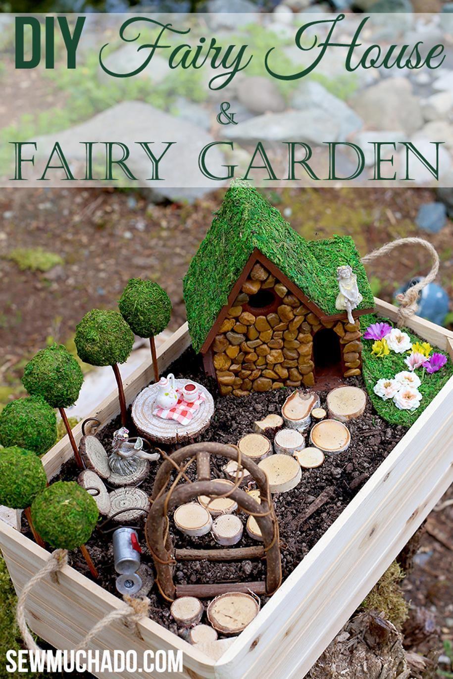 Diy Fairy Garden Accessories 29 Miniaturefairygardens Ramona