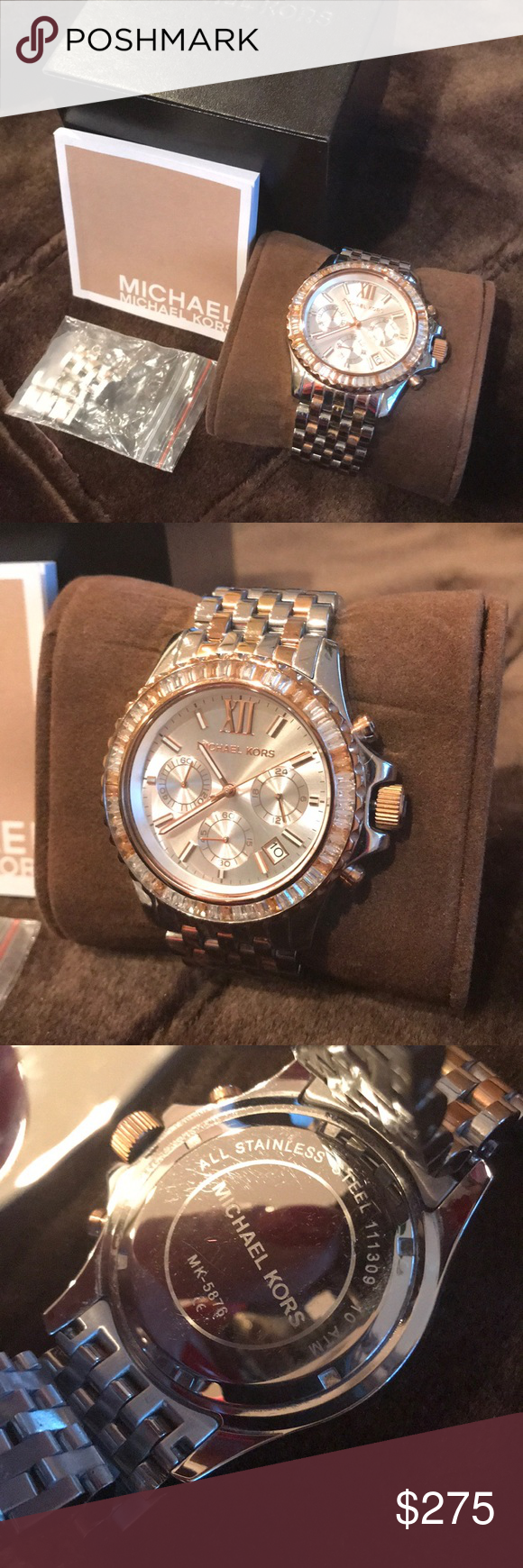 Michael Kors Chronograph Watch Stunning Pinterest