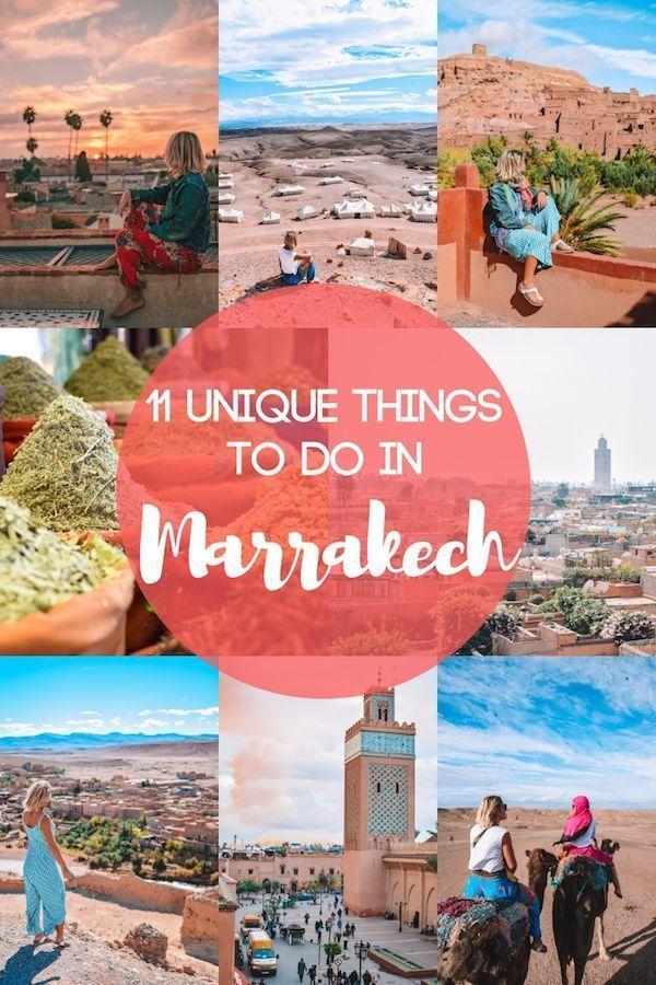 11 Einzigartige Erfahrungen In Marrakesch Marokko Travel